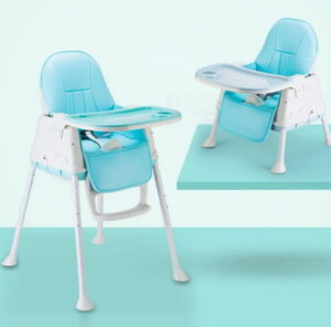 Polka Tots 4 in 1 Kids Premium High Chair | Best High Chair for Babies India