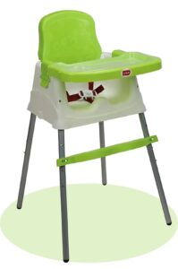 Luvlap 4 in 1 Convertible High Chair | Best High Chair for Babies India