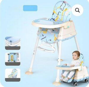 StarAndDaisy Folding Baby High Chair | Best High Chair for Babies India