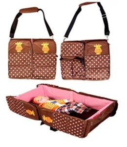 BABYGO Travel Bed Cot and Folding Diaper Bag |  Best Baby Folding Bed in India