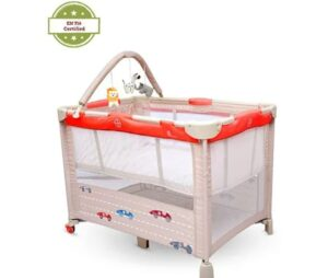 R for Rabbit Hide & Seek Baby Cot Bed Folding | Best Baby Folding Bed in India