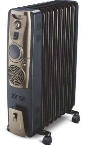 Bajaj Majesty RH 9F Plus 9-Fin 2400 Watts Oil Filled Radiator Room Heater   Best Oil Filled Room Heater in India