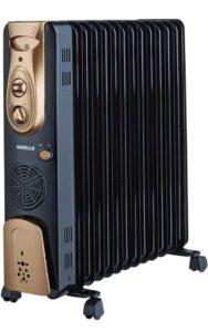 Havells OFR - 13Fin 2900-Watt PTC Fan Heater   Best Oil Filled Room Heater in India