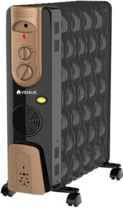 Venus 2500W Oil Filled Radiator Blower Room Heater   Best Oil Filled Room Heater in India