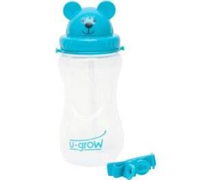 U-Grow Bear Cup Bottle   Best Sipper for Babies in India