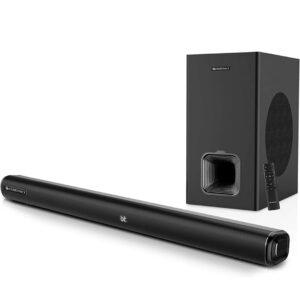 Zebronics Zeb-Juke Bar 6001 DWS PRO, 160W Multimedia Soundbar  Best Soundbar Under 10000