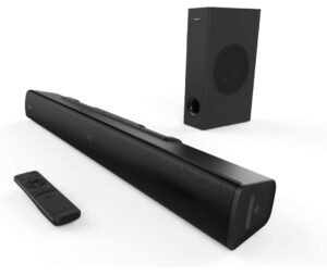 Creative Stage V2 160 Watt 2.1 Channel Wireless Bluetooth Soundbar   Best Soundbar Under 10000