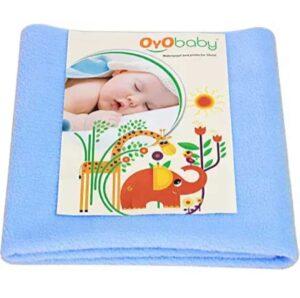 OYO BABY Waterproof Bed Protector Dry Sheet | Best Baby Bed Protector