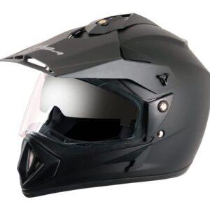 Vega - Shell OR-D/V-DK_M Off-Road D/V Black Helmet | Best Helmet Under 2000