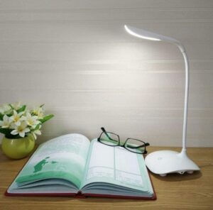 TIMESOON LED Touch On/Off Switch Desk Lamp | Best Study Lamp for Eyes